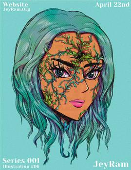 Overgrowth - Portrait Illustration