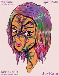 Evolution - Portrait illustration