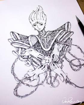 The Spirit of Virgo - Ink