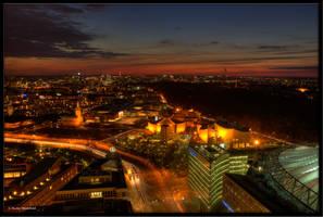 Himmel ueber Berlin by Haufschild