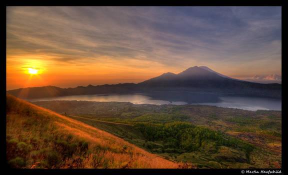 Sunrise at Mount Batur II