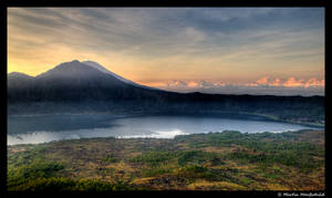 Sunrise at Mount Batur III by Haufschild