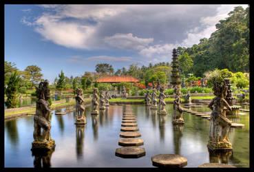 Tirtagangga Water Palace III by Haufschild