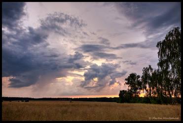 June Thunderstorm II by Haufschild