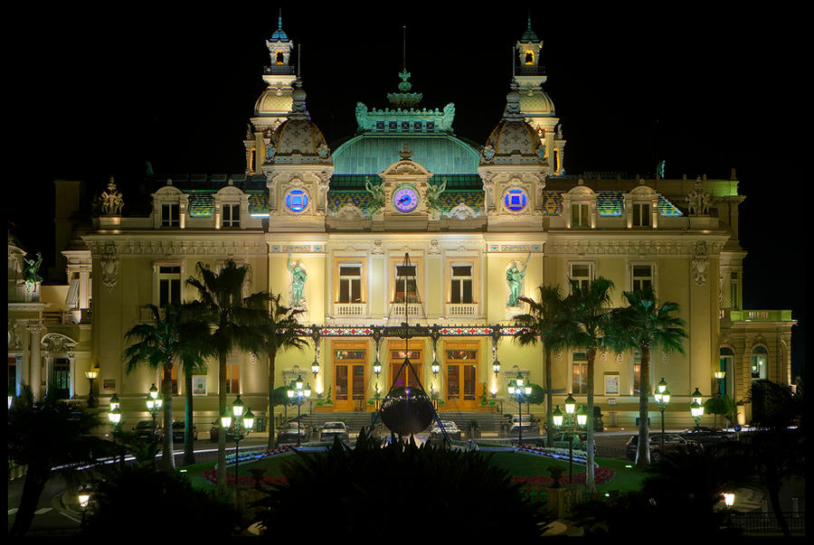 Grand Casino Monte Carlo II by Haufschild