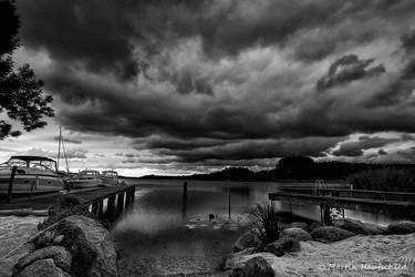 Thunderstorm at the lake