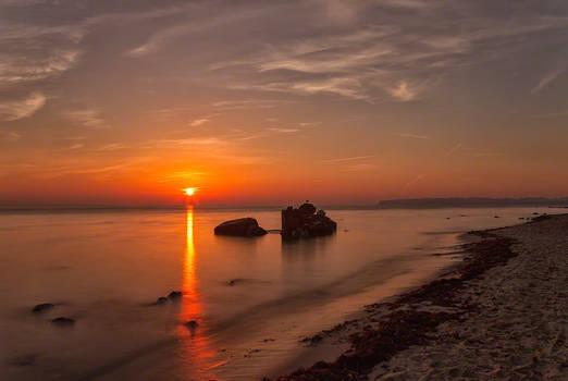 Sunrise on Ruegen