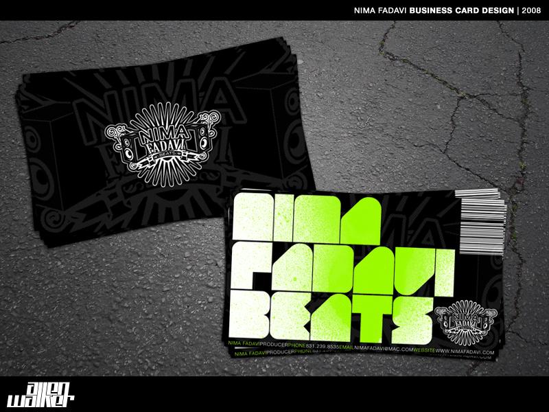 Nima Fadavi Business Card by 5MILLI