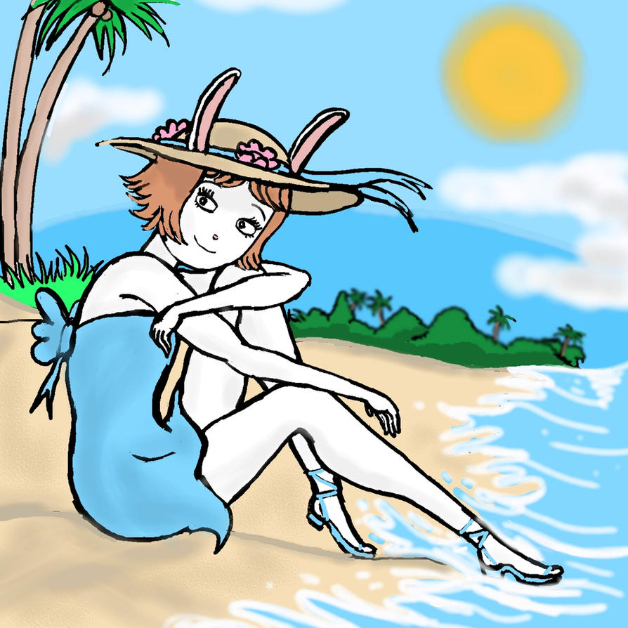 Marina Datillo: Sun, Sand and Sea by harbinger-project