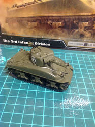 1/72 3rd Infantry Division M4 Sherman