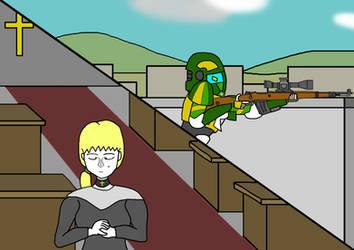 Catholic Sniper Robot