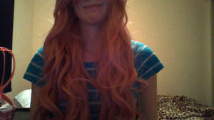 Derping with Wigs: It's so Long and Curly