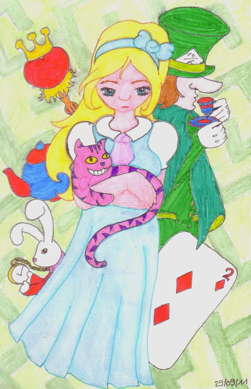 La galerie de Laïla - Page 6 Alice_in_wonderland_by_reubeuh-d4ba0pd