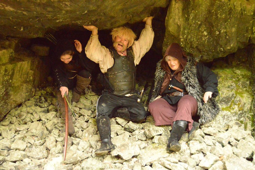 Deep in Tilas Cave - X1 by Barrowing