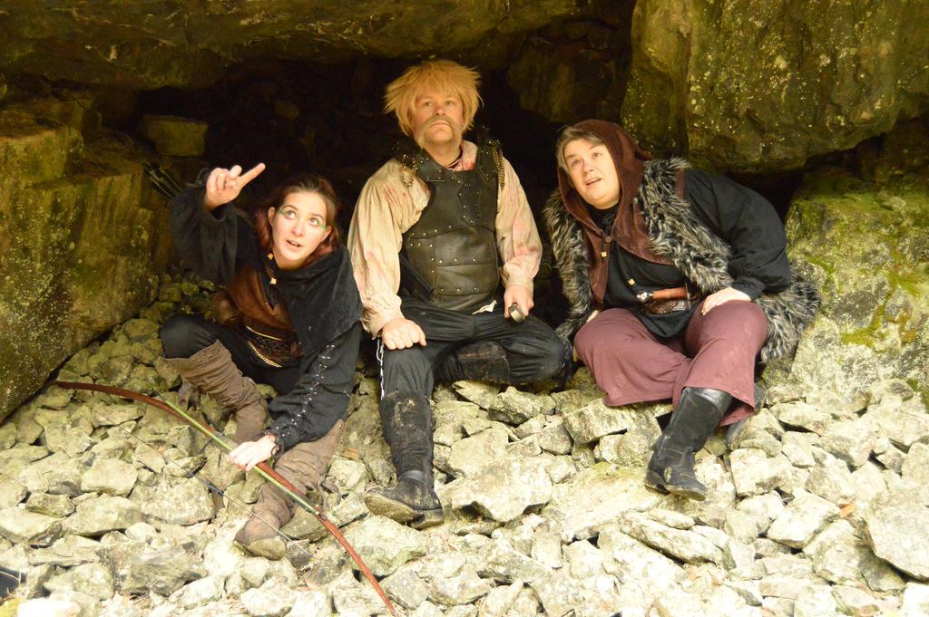Deep in Tilas Cave - X3 by Barrowing