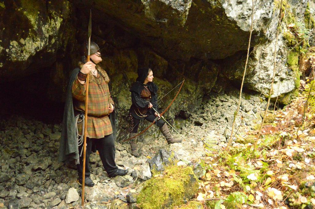 Deep in Tilas Cave - X4 by Barrowing