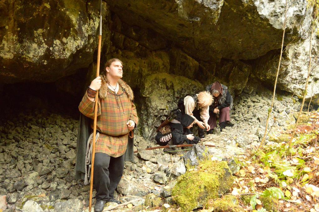 Deep in Tilas Cave - X5 by Barrowing