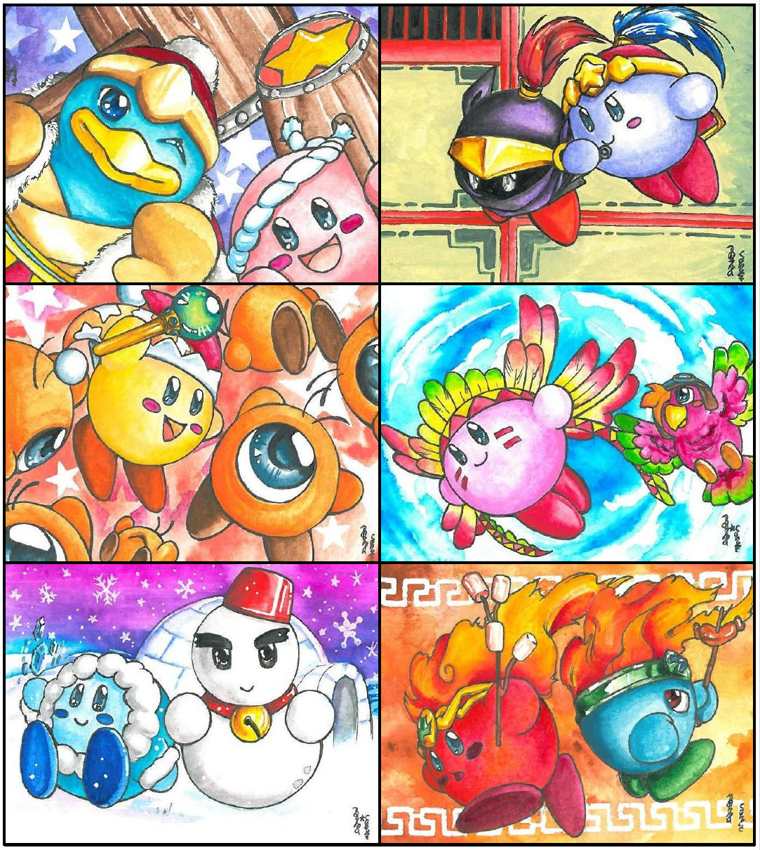 kirbys copying power 1 by ravenoath