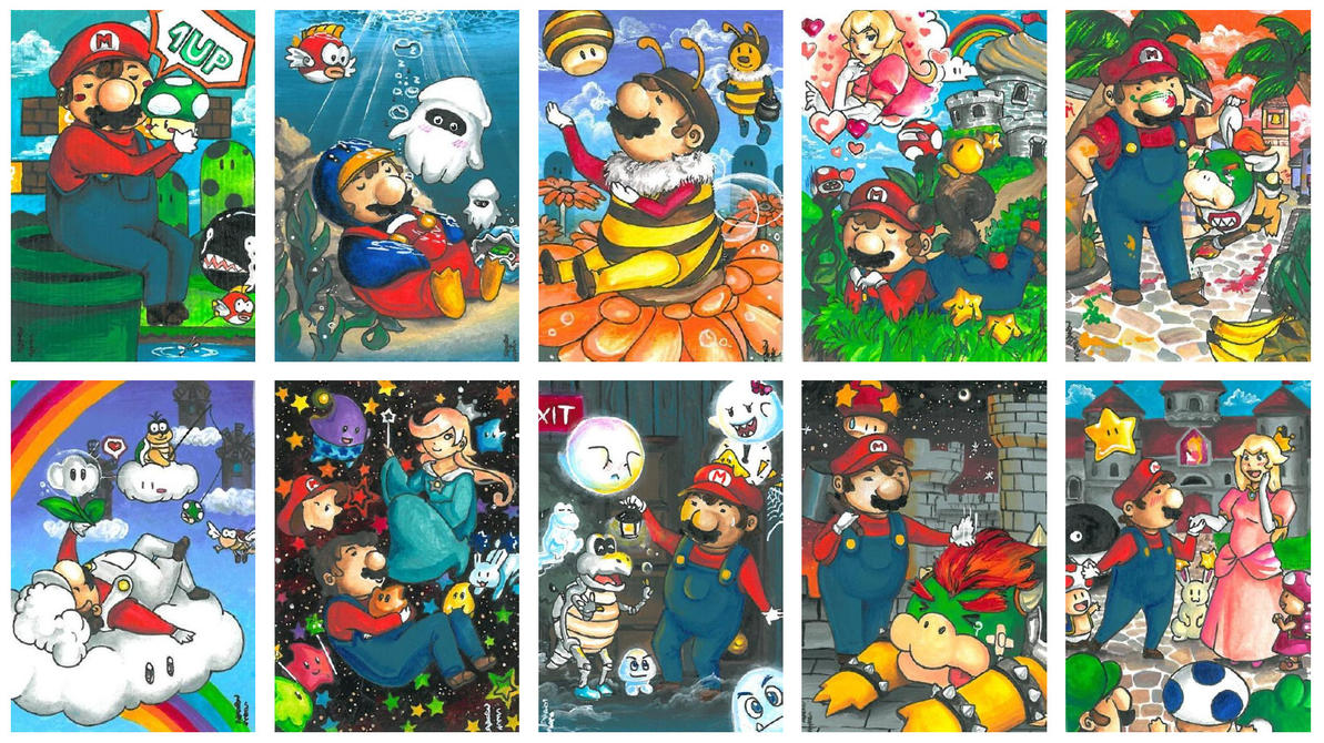 Superduper Mario Story by ravenoath