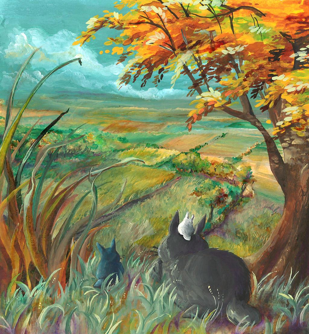 Totoro by ravenoath