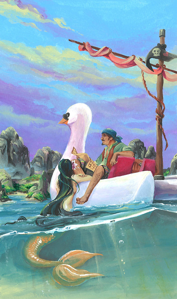 pedal boat pirates by ravenoath