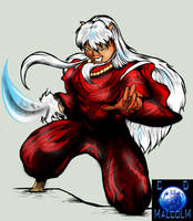 Inuyasha In Color by cdmalcolm