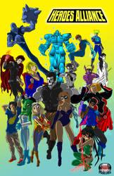 Heroes Alliance manga edition by cdmalcolm