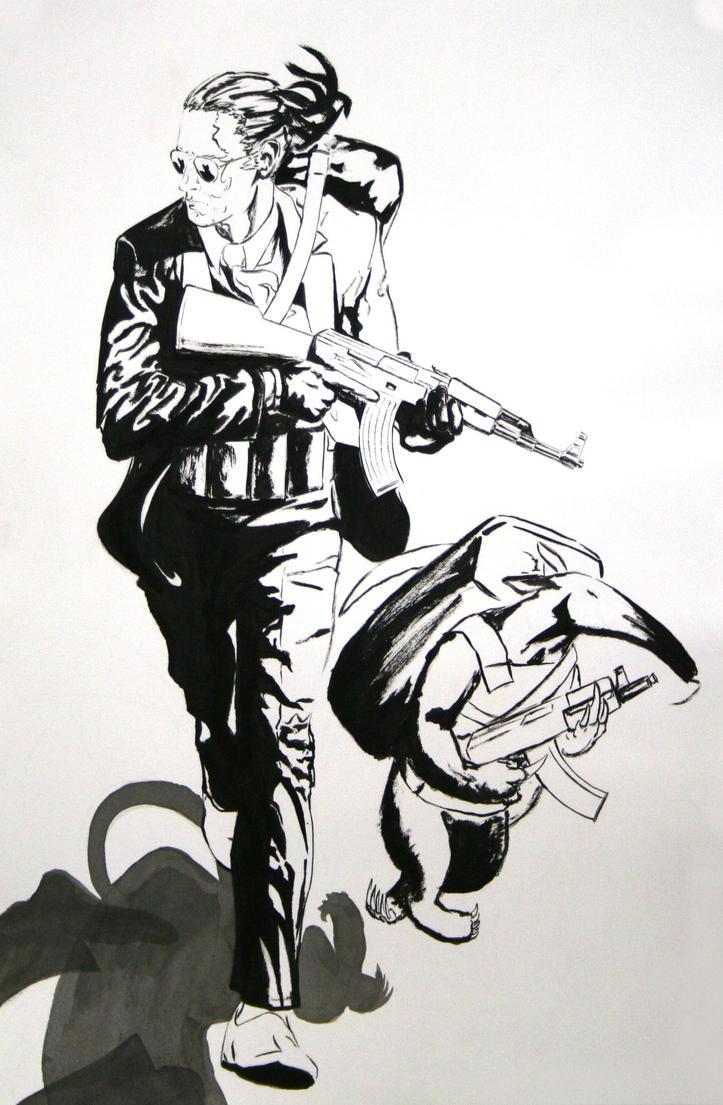 el Guapo and Rodrigo by ColeBarrett