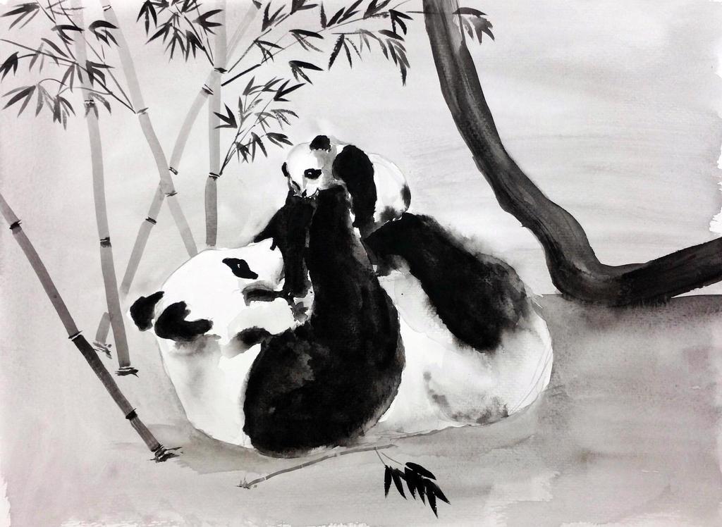 Pandas by ColeBarrett