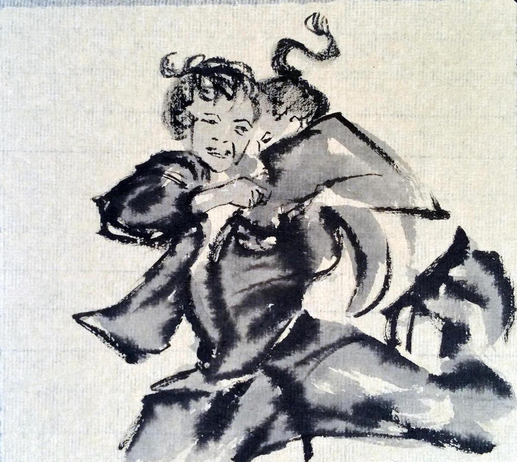 Ronda Rousey judo sumi by ColeBarrett