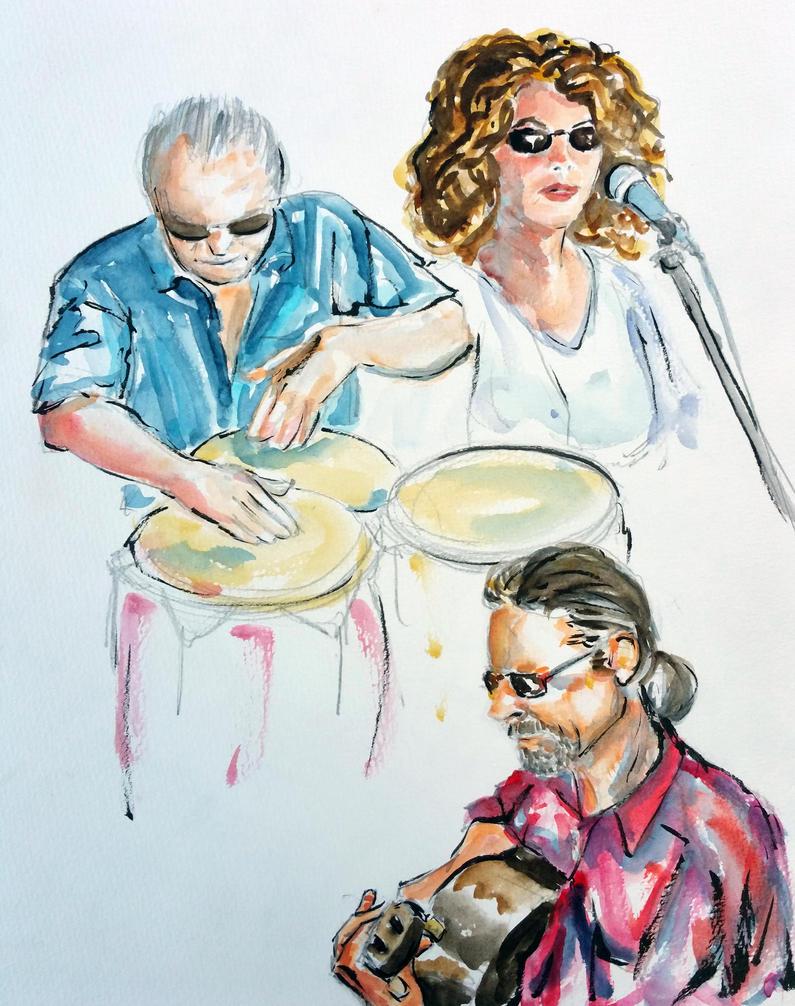 Chiera trio by ColeBarrett