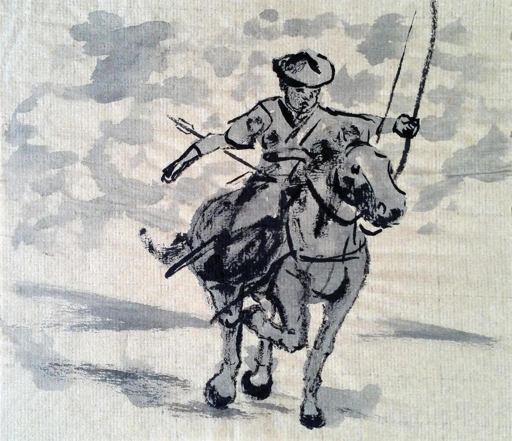 Yabusame sumi 2 by ColeBarrett