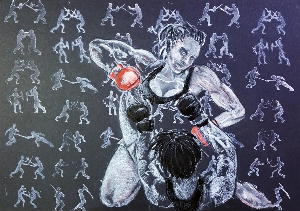 Lady MMA 2 by ColeBarrett