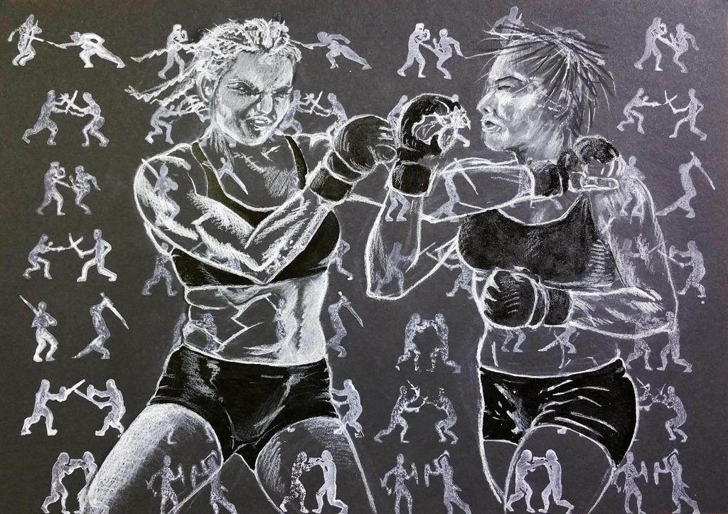Lady MMA 3 by ColeBarrett