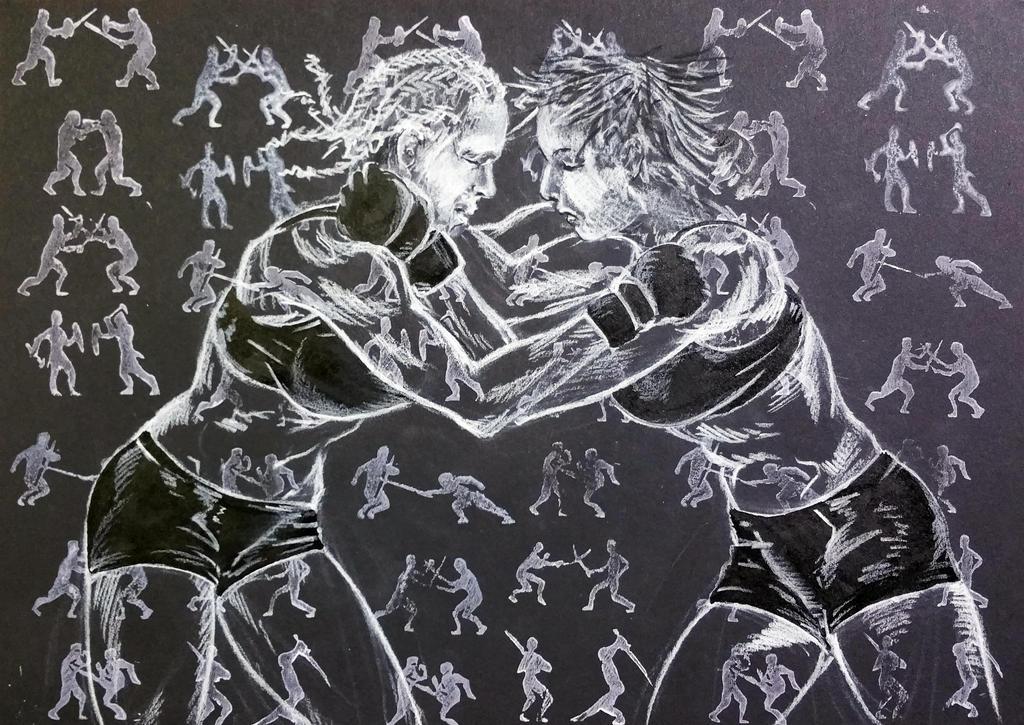 Lady MMA 4 by ColeBarrett