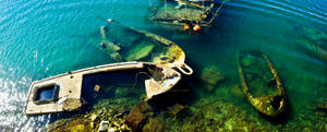 Shipwrecks panorama