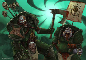 DeathGuard's rejects by DeDorgoth