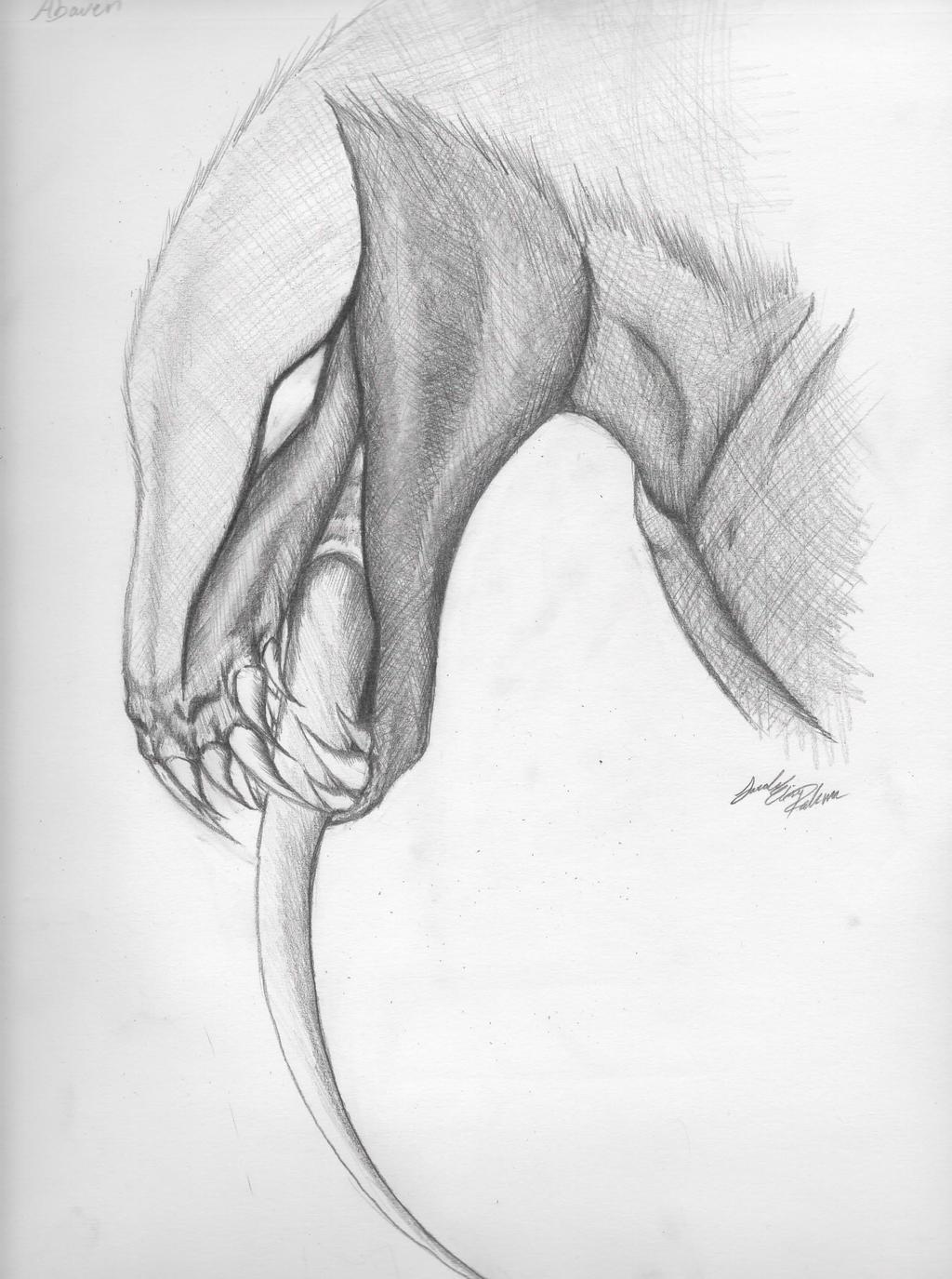 Sketchbook Drawing Of Abaven 33