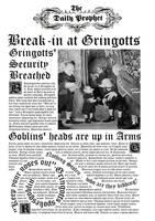 Daily Prophet- Gringotts break-in by decat