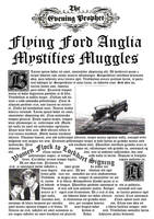 Daily Prophet- Flying Ford Anglia by decat