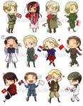 Axis Powers Hetalia: Stickers