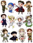 Axis Powers Hetalia: Stickers2