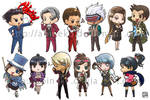 Ace Attorney Stickers
