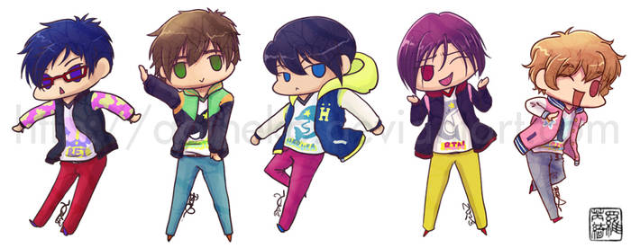 Free!: Ending Stickers