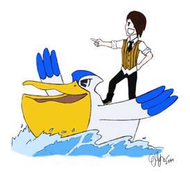 PELIPPER used SURF