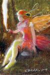 second original Fairy fanatsy art illustration
