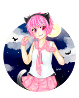 The Pink Cat of Halloween~ by KWVS