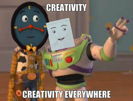 Creativity is Everywhere by PaigeTheNotepad