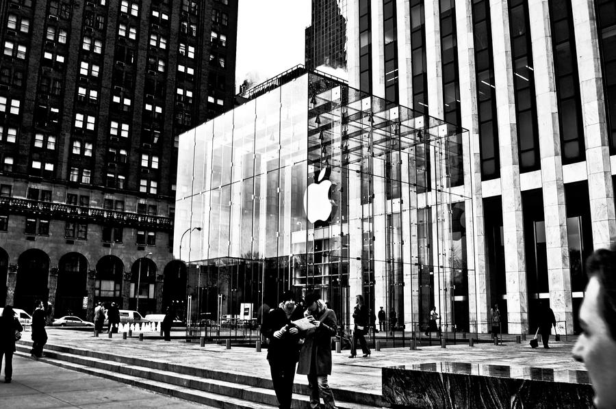 Apple store new york by rasmusjt on deviantart for Craft stores in nyc