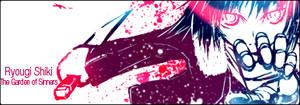 Ryougi Shiki Splatter sig